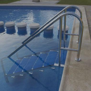Review de escaleras piscina portátil