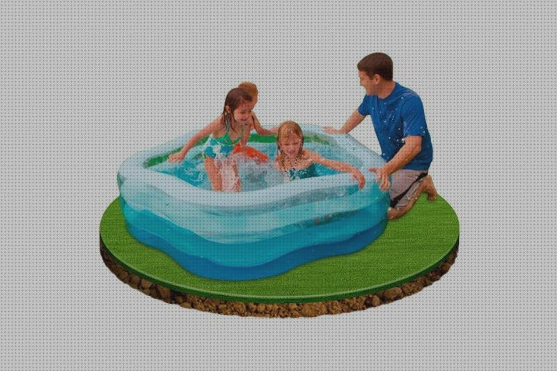 Review de hinchables hinchables de piscina con fondos transparentes