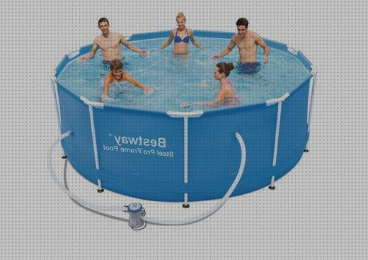Review de 305x100 bestway piscina desmontable tubular bestway steel pro 305x100 cm con depuradora