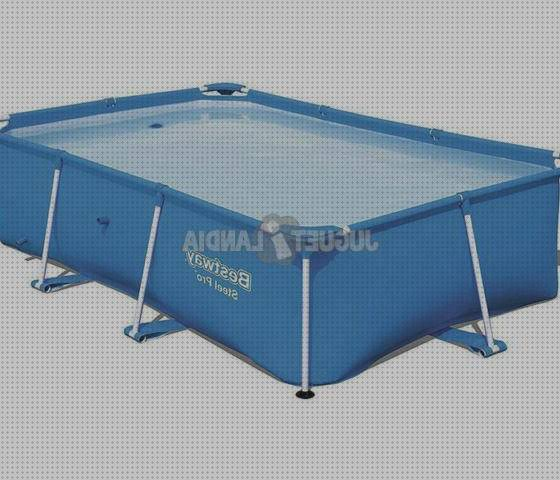 Top 1 Piscina Desmontable 259x170x61cm Bestway 56403