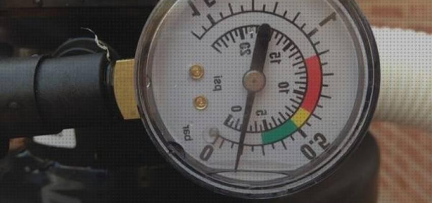 Calibrador de prueba de presión de agua de red 0-11bar 0-160psi con manguera de acero inoxidable